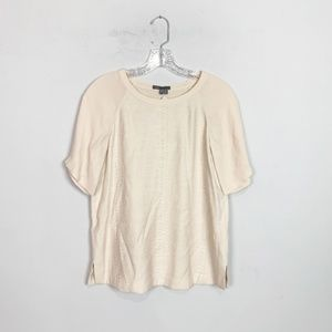 Vince | short sleeve blouse baby pink size XS